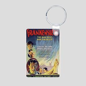 Vintage Frankenstein Horror Movie Aluminum Photo K
