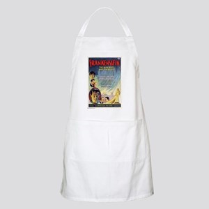 Vintage Frankenstein Horror Movie Apron