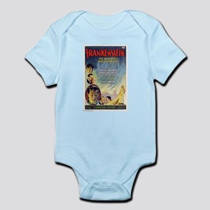 Vintage Frankenstein Horror Movie Infant Bodysuit