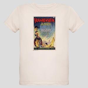 Vintage Frankenstein Horror Movie Organic Kids T-S
