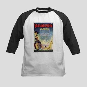 Vintage Frankenstein Horror Movie Kids Baseball Je