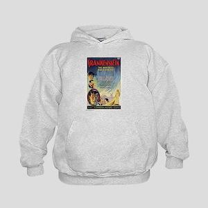 Vintage Frankenstein Horror Movie Kids Hoodie