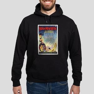 Vintage Frankenstein Horror Movie Hoodie (dark)
