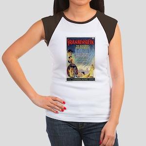 Vintage Frankenstein Horror Movie Women's Cap Slee
