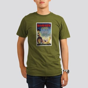 Vintage Frankenstein Horror Movie Organic Men's T-