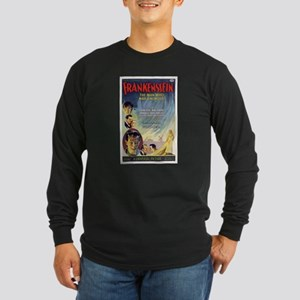 Vintage Frankenstein Horror Movie Long Sleeve Dark