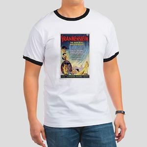 Vintage Frankenstein Horror Movie Ringer T