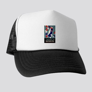 Vintage March is for Reading Trucker Hat