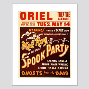 Vintage Halloween Party Small Poster