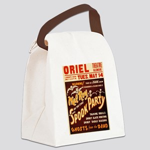 Vintage Halloween Party Canvas Lunch Bag