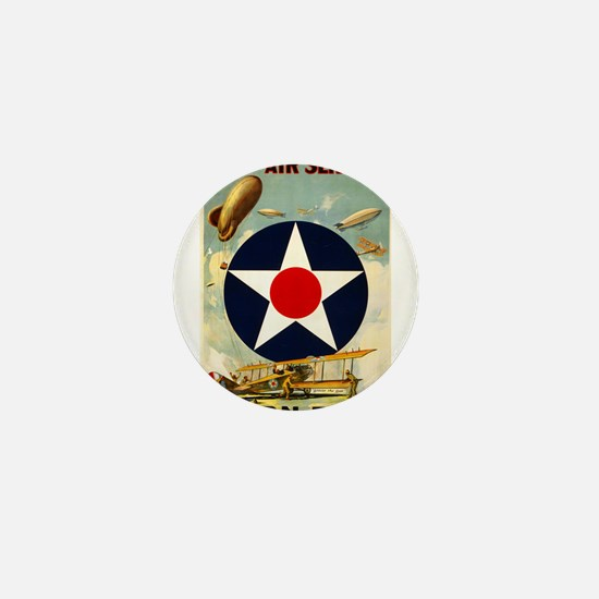 WWII Join the Air Service/Air Force Mini Button