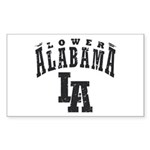 Lower Alabama Sticker (Rectangle 50 pk)