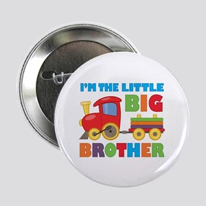 """Little Big Bro Train 2.25"""" Button"""