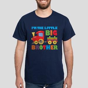 Little Big Bro Train Dark T-Shirt