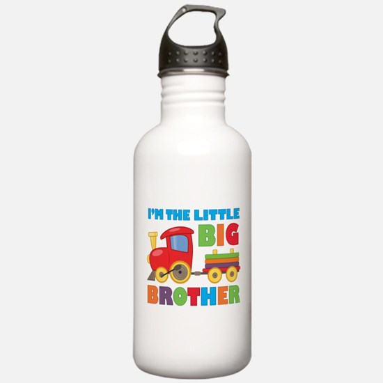 Little Big Bro Train Sports Water Bottle