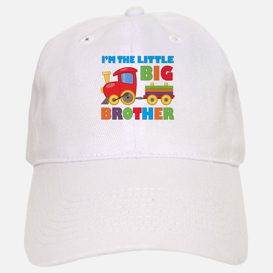 Little Big Bro Train Baseball Baseball Cap
