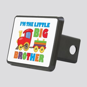 Little Big Bro Train Rectangular Hitch Cover