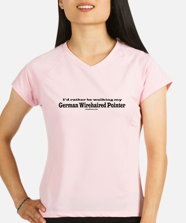 German Wirehaired Pointer Performance Dry T-Shirt