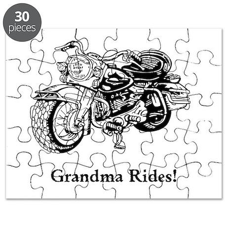 Grandma Rides Puzzle