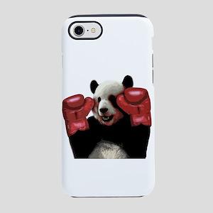 Boxing panda iPhone 7 Tough Case