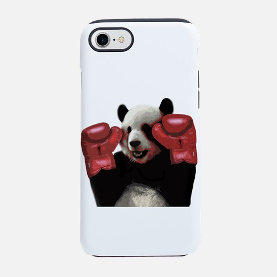 Boxing panda iPhone 7 Tough Case