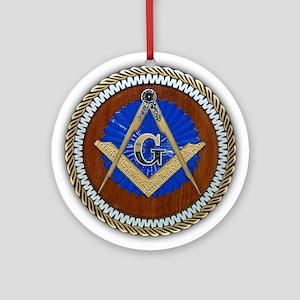Freemasonry Ornament (Round)