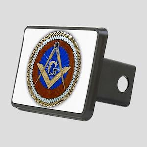 Freemasonry Rectangular Hitch Cover