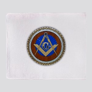 Freemasonry Throw Blanket