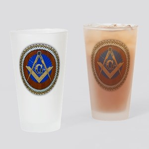 Freemasonry Drinking Glass