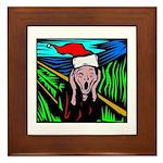Christmas Stress Framed Tile