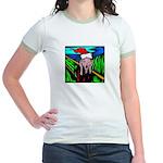 Christmas Stress Jr. Ringer T-Shirt