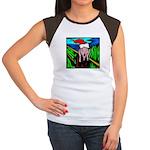 Christmas Stress Women's Cap Sleeve T-Shirt