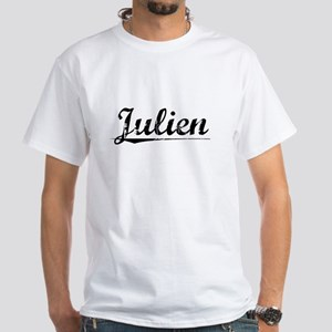 Julien, Vintage White T-Shirt