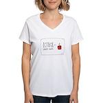 We Love October Women's V-Neck T-Shirt