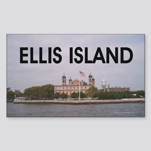ABH Ellis Island Sticker (Rectangle)