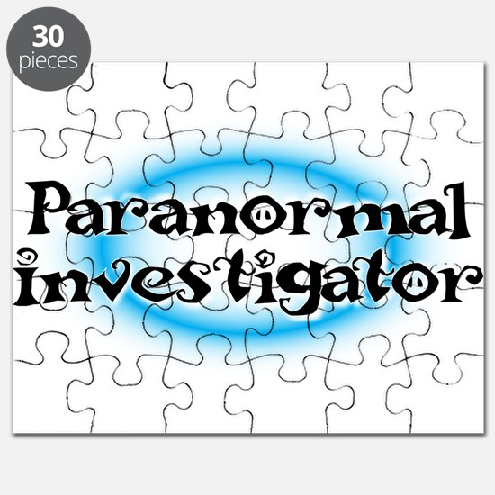 Funny Paranormal Puzzle