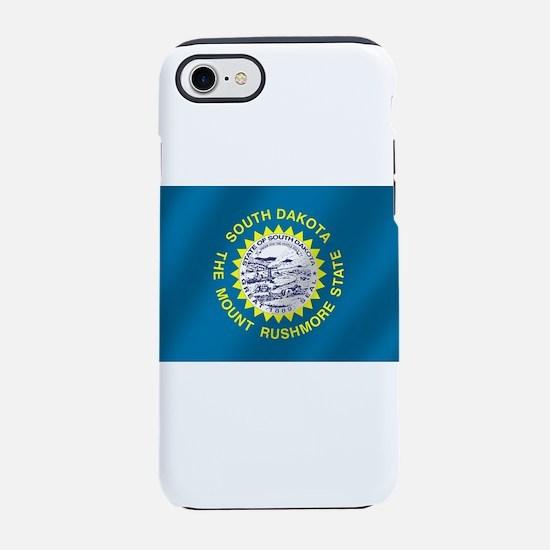 South Dakota Flag iPhone 7 Tough Case
