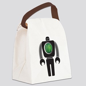 Robo-Scope Canvas Lunch Bag