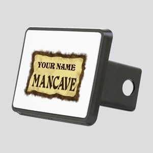 MANCAVE CUST Rectangular Hitch Cover