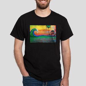Drippy Island Dark T-Shirt