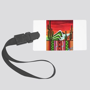 Cactus Point Large Luggage Tag