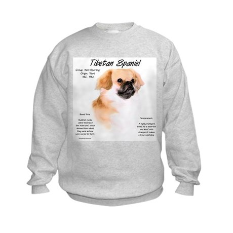 Tibetan Spaniel Kids Sweatshirt