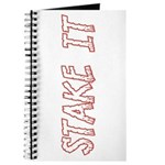 Stake It Journal