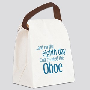 Oboe Creation Canvas Lunch Bag