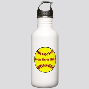 Personalized Softball Stainless Water Bottle 1.0L