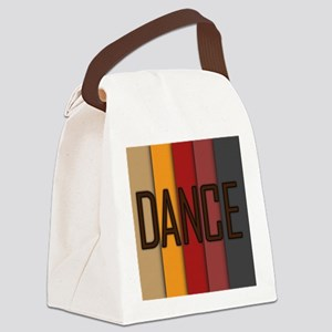 Dance Overlap Canvas Lunch Bag