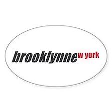 brooklynne_wyork Sticker (Oval)