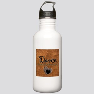 Dance Makes My Heart Sing Stainless Water Bottle 1