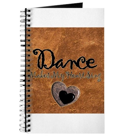 Dance Makes My Heart Sing Journal