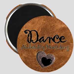 Dance Makes My Heart Sing Magnet